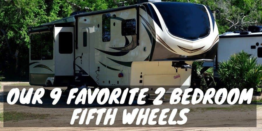 2 bedroom fifth wheels