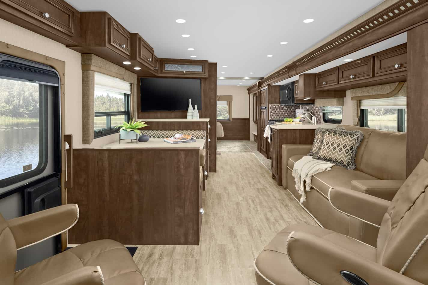 Interior of the 2021 Newmar Bay Star Sport - Photo: Newmar