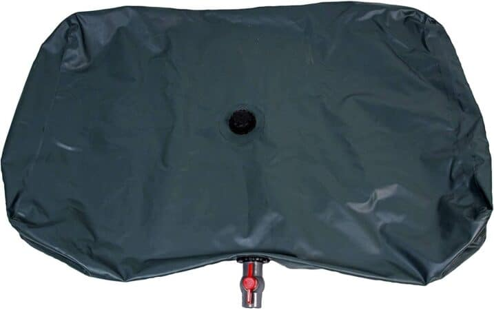 Portable water reservoir bag.
