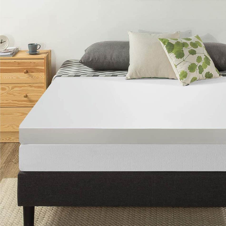 Memory foam RV mattress topper
