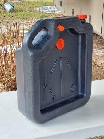 A multi-purpose oil jug - Author photo