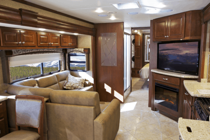 TV for RV use