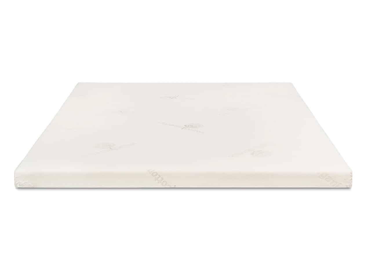 White RV mattress topper