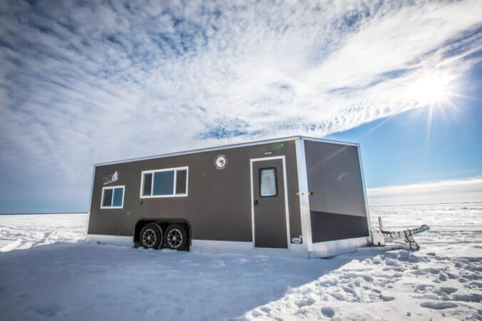 One of Yetti Outdoors Fish House RVs - photo: Yetti Outdoors