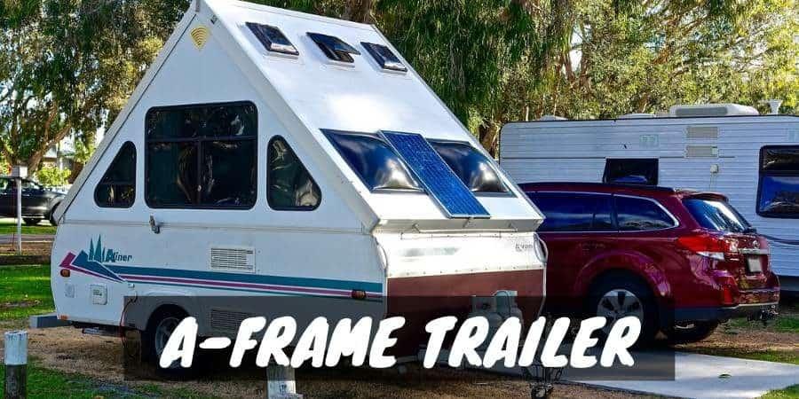 A-frame trailer