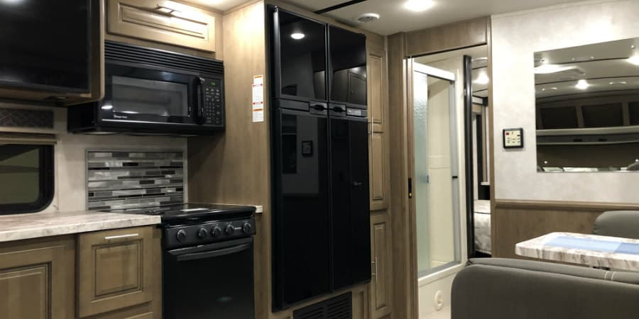 Big refrigerator for RVs