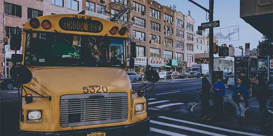 Bus as RV
