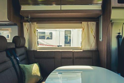 Camper inside