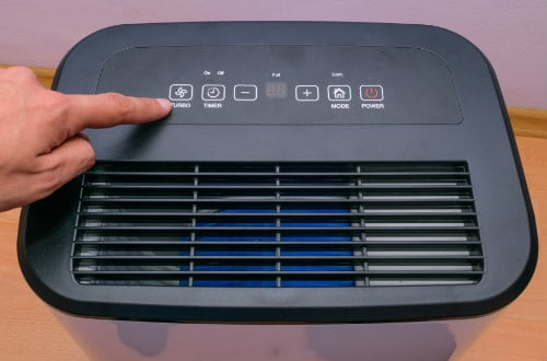 Dehumidifier for RV