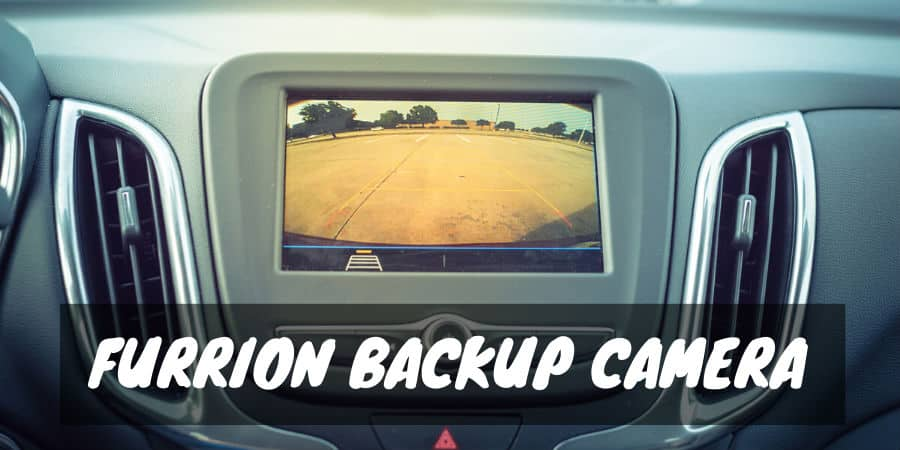 Furrion backup camera