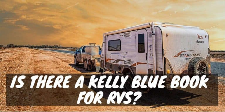 Kelly blue book for RVs