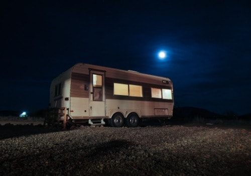 Live in the camper-full time