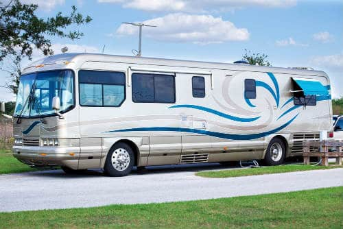 luxery class a motorhome