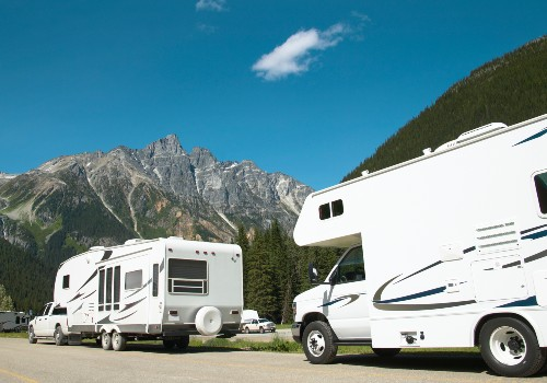 Luxurious travel trailers