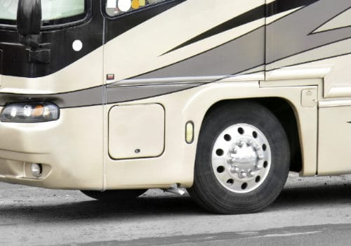 Measure for RV tire covers