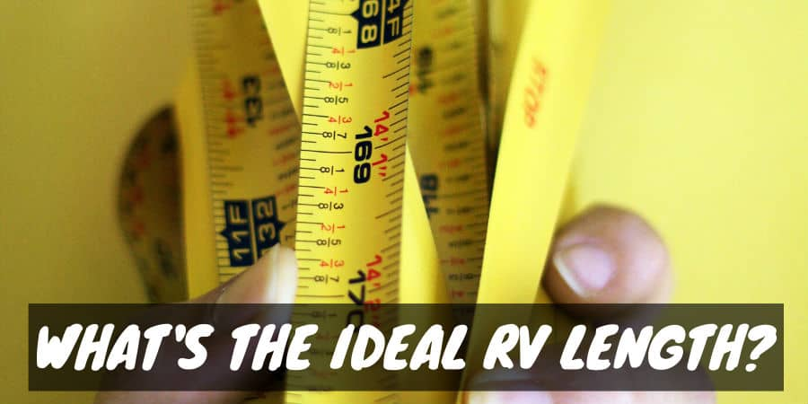 Measuring RV / Camper Exterior