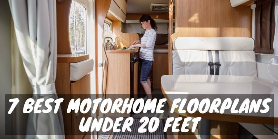 Motorhome floorplans under 20 feet