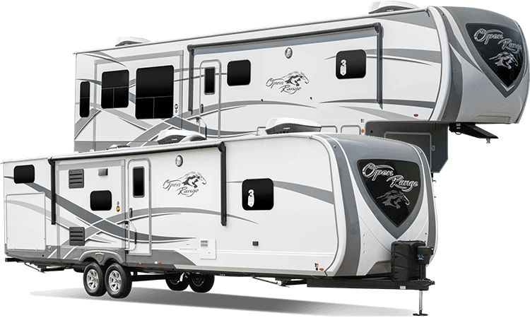 Highland Ridge has Travel Trailers and 5th wheels.