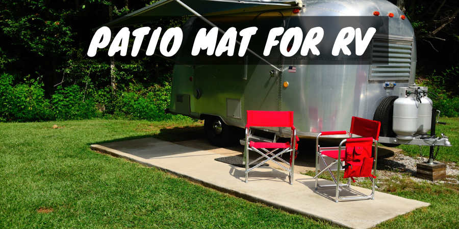 Best RV Patio Mat to Reduce Dirt