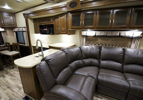 Recreation vehicle interior