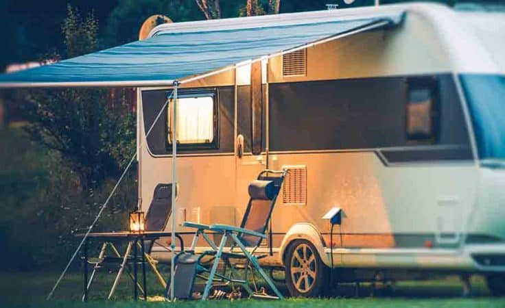 Replacing your RV awning