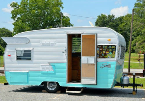 Riverside Retro Travel Trailer
