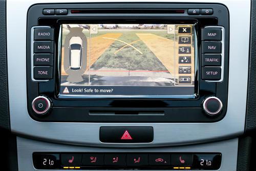 RV backup camera for safe reversing and parking