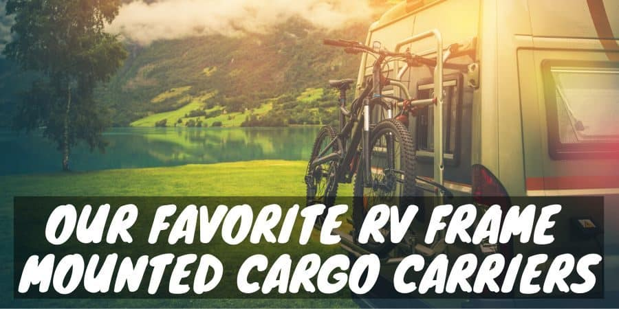 Favorite RV Frame Mounted Cargo Carriers