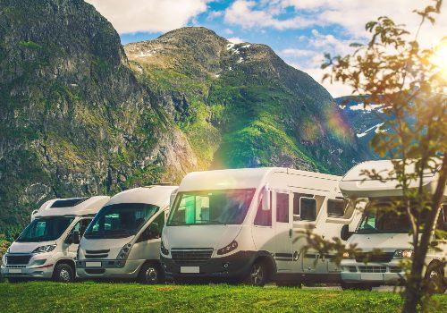 RV park camping