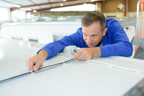 RV roof coatings and sealants to maintain roof