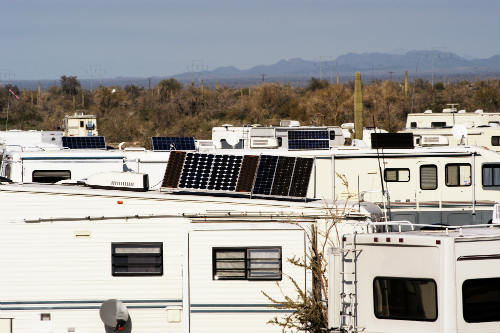 RV solar panel benefits