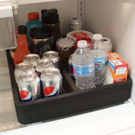 This RV fridge organizer bin is great for RVers - Photo: Polar Whale . Polar Whale offers several RV kitchen accessories.