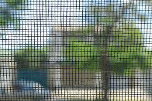 RV's window screens