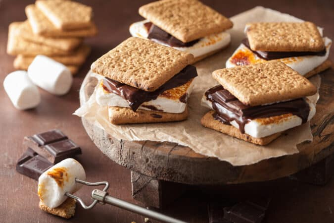 S'Mores are a staple of RV History, past and present