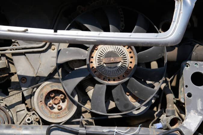 Cooling system maintenance is critical in an RV