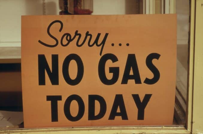 RV History - Gas shortages marked the early 1970's