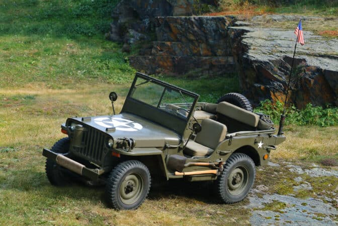 The Jeep had a profound effect on RV History as returning servicemen desired to travel after the war.