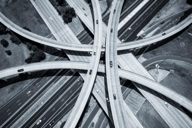The Interstate Highway System opened up travel across America