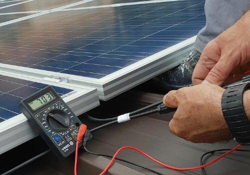 Solar panel for an RV
