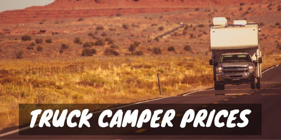 Truck camper prices