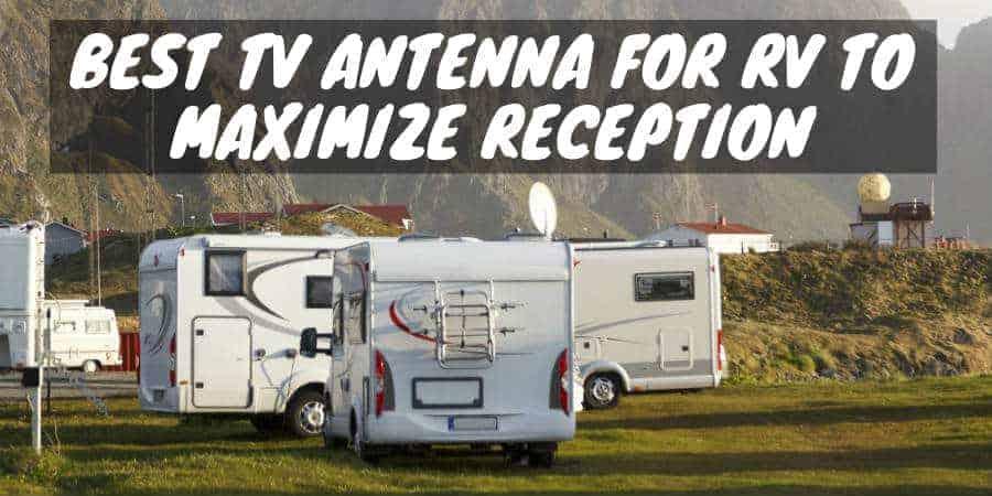 TV antenna for RV