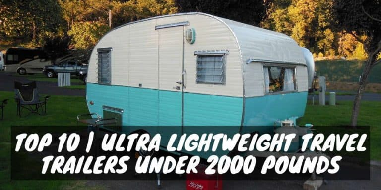Ultra-lightweight travel trailers under 2000 pounds