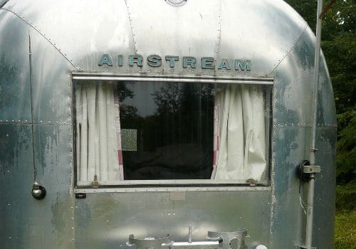A vintage airstream