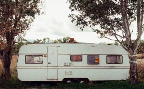 White 10 year old RV