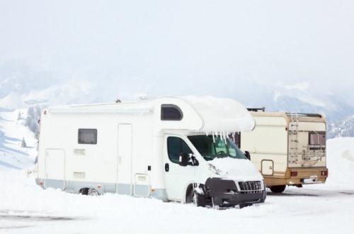 Winter camping